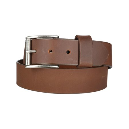 Men's Chieftain Leather Belt with Removable Roller (Removable Roller Buckle)