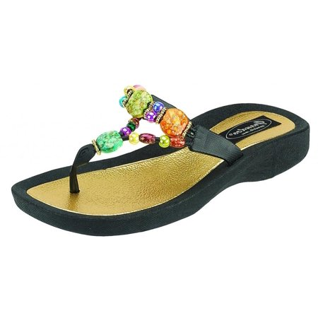 09e943112 Grandco - GRANDCO Women s Marble Deluxe Thong Sandal