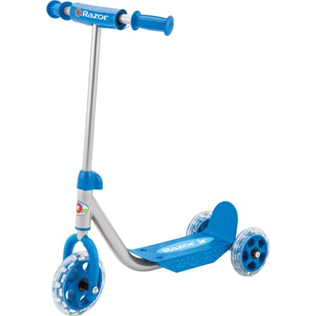 Razor Jr. 3-Wheel Lil Kick Scooter - Ages 3+ and riders up to 44 lbs