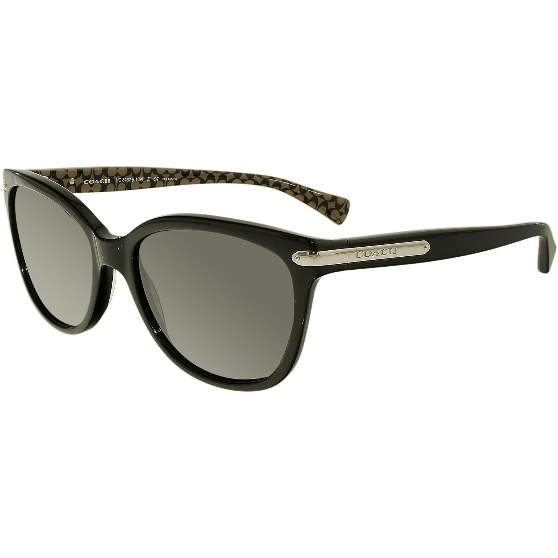 4dfda92751 ... order coach womens polarized hc8132 5261t3 57 black square sunglasses  24520 2ea44