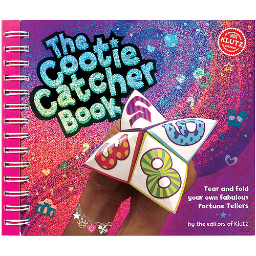 Klutz The Cootie Catcher Book Kit