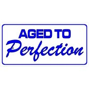 Aged To Perfection Photo License Plate