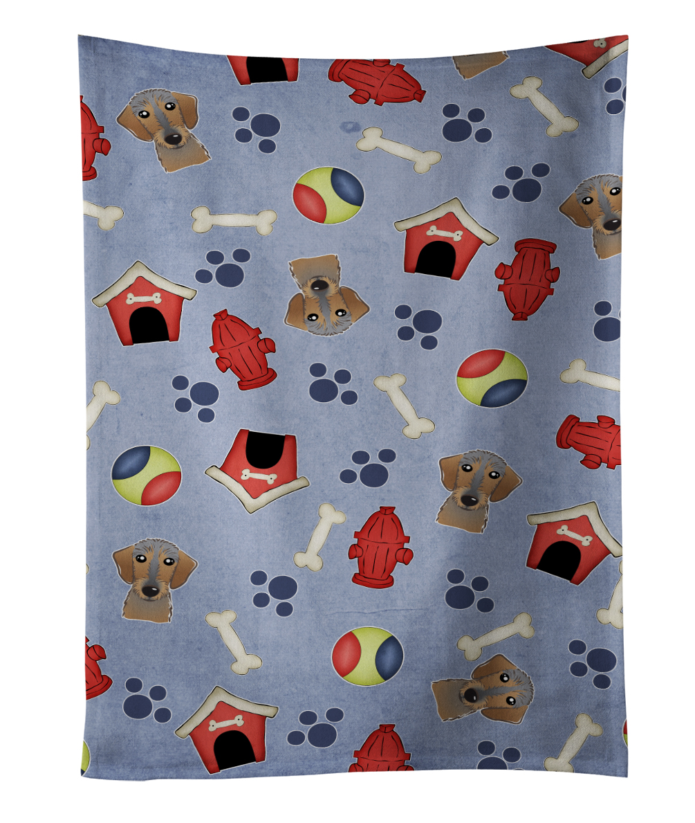 Dog House Collection Wirehaired Dachshund Kitchen Towel BB4012KTWL by Caroline's Treasures