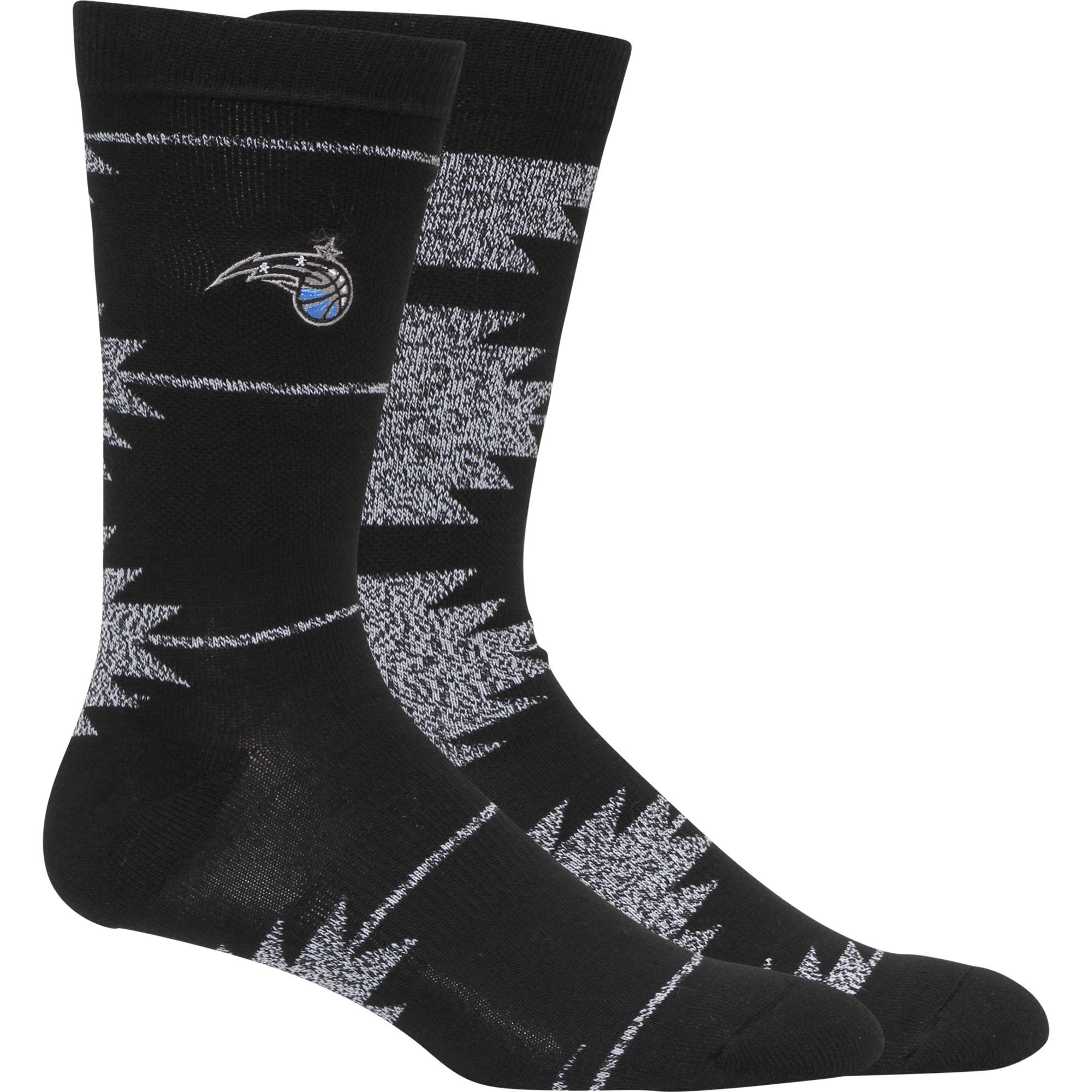 Orlando Magic Geo Crew Socks - L