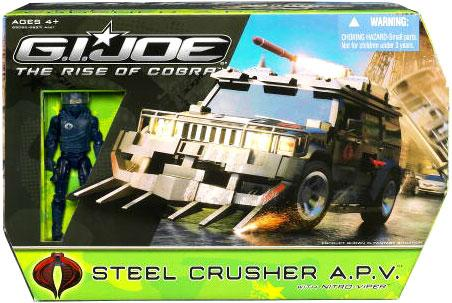 GI Joe The Rise of Cobra Steel Crusher A.P.V. by Hasbro, Inc.