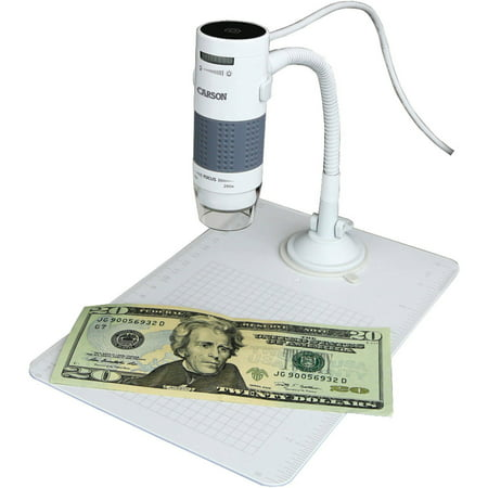 Carson eFlex USB Digital Microscope with Flexible Stand and Base - 75x/300x (based on a 21″ (Best Digital Microscope For Classroom)