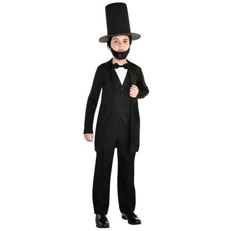 Abraham Lincoln Outfit (Abraham Lincoln Child Costume -)