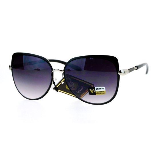 07caeb36b1 SA106 - SA106 Luxury Designer Womens Butterfly Metal Diva Sunglasses ...