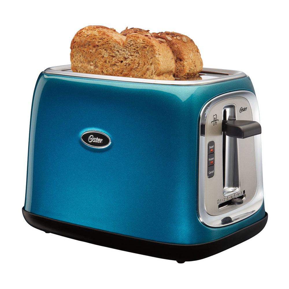 Oster TSSTTRJB0T 2-Slice Toaster Teal Turquoise - Walmart.com