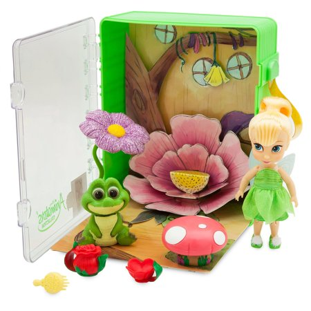 - Disney Animators' Little Collection Tinker Bell Mini Doll Playset New With Tags