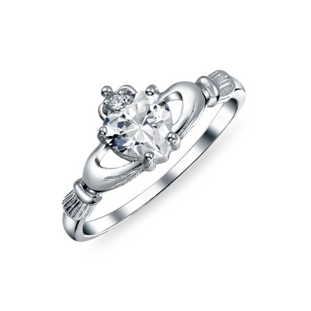 0fad0f345d Bling Jewelry - Bling Jewelry Irish Celtic Sterling Silver Heart CZ ...