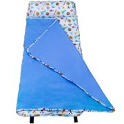 Wildkin Game On Blue Easy Clean Nap Mat for Boys and Girls
