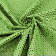 Lime Football Mesh Jersey Fabric - Style# FM734712 - Free Shipping!