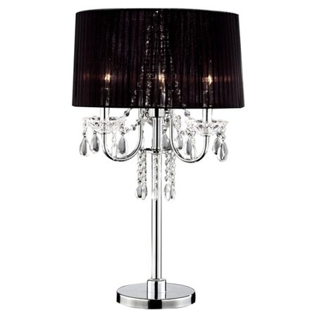 Ore International Inc. Crystal Drop Table Lamp ()