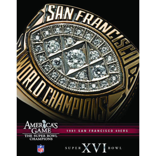 NFL America's Game: 1981 49Ers (Super Bowl Xvi) ( (DVD)) by Allied Vaughn