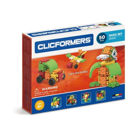 Magformers Basic Set, 50-Piece Magnetic Construction Set