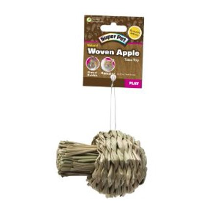 Super Pet 276837 Small Super Pet Natural Sisal Apple Toy