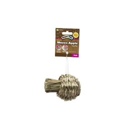 Super Pet 276837 Small Super Pet Natural Sisal Apple Toy - Apple Toys