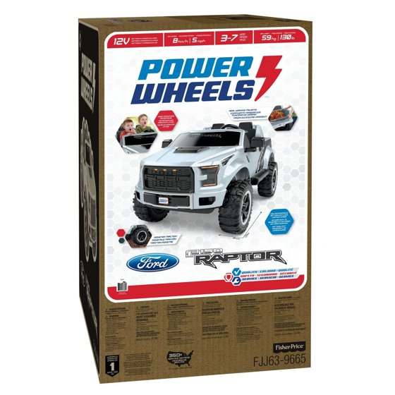 Power Wheels Ford F-150 Raptor - Walmart com
