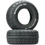 Duratrax Bandito SC On-Road Tire C2 (2-Piece) Multi-Colored