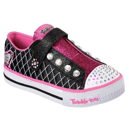 - Skechers Little Kids Twinkle Toes Shuffles Sparkly Jewels
