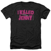 The L Word I Killed Jenny Mens Heather Shirt