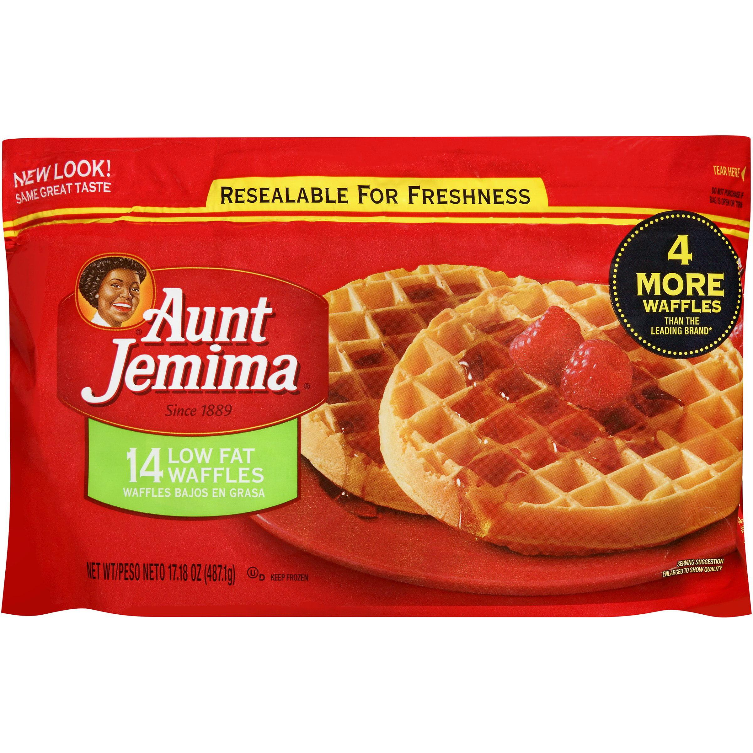 Aunt Jemima® Low Fat Waffles 14 ct Bag