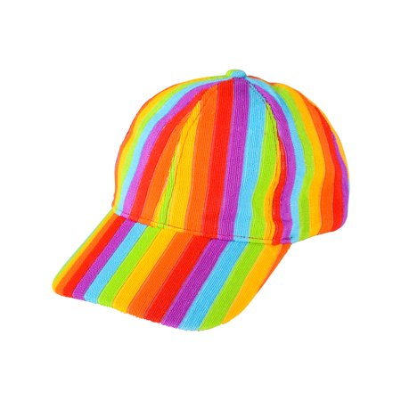 Clown Hats For Sale (Adults Rainbow Pride Trucker Clown Baseball Hat Cap Costume)