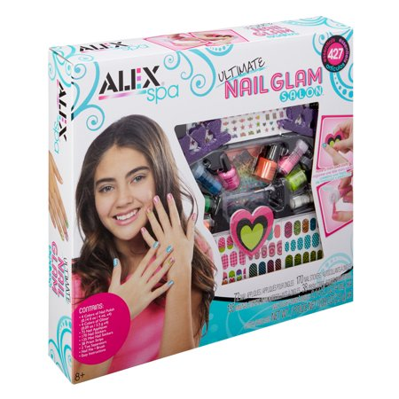 ALEX Spa Ultimate Nail Glam Salon Kit