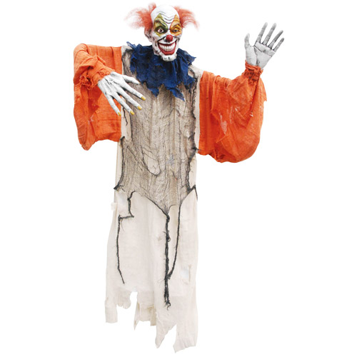 5' Creepy Halloween Hanging Clown