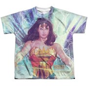 Jla - Stormy Heroine - Youth Short Sleeve Shirt - Small