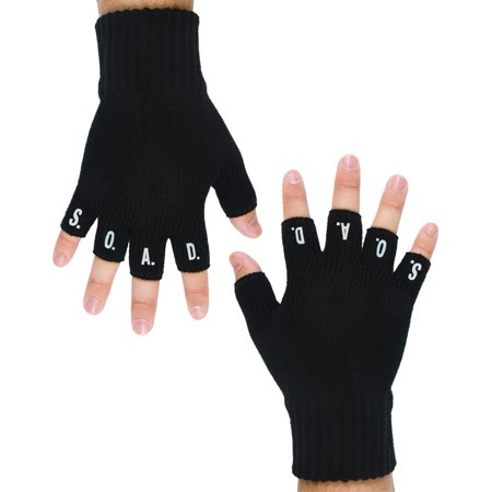 - System Of A Down - SOAD Fingerless Gloves