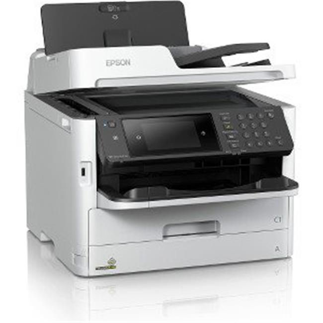 Epson WorkForce Pro WF-C5710 Inkjet Multifunction Printer - Color - Plain Paper Print - Desktop - Copier/Fax/Printer/Scanner - 4800 x 1200 dpi Print - Automatic Duplex Print - 1 x Automatic Document F
