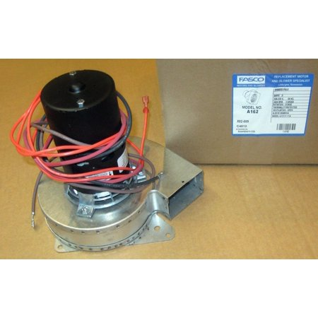 Bryant Inducer Motor (Fasco A162 Inducer Blower Motor fits Goodman 7021-8656)