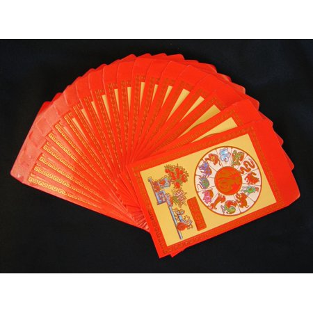 80PCS Colorful Chinese New Year Money Envelopes Hong Bao Lucky Money -