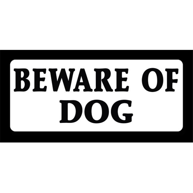 EverMark WHM011-01 Beware Of Dog Clip-On Sign - image 1 of 1