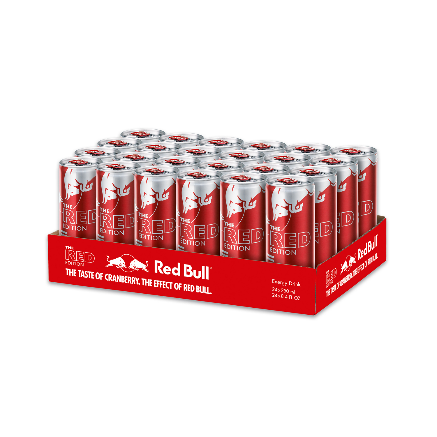 Red Bull 24-Pack 8.4oz Red Edition Energy Drink