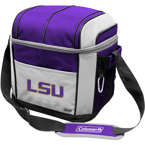 "Coleman 11"" x 9"" x 13"" 24-Can Cooler, LSU Tigers"