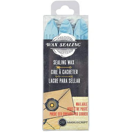 Sealing Wax 3/Pkg-Blue