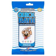 Quick Bath Small Dog Wipes, 10 pack