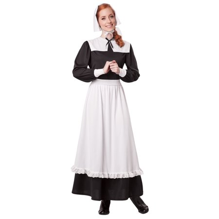Pilgrim Woman Costume (Dog Pilgrim Costume)