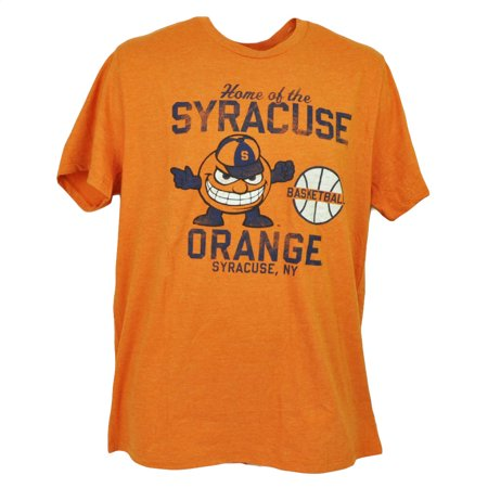 Ncaa Syracuse Orange Basketball Short Sleeve Tshirt Tee Mens Crew Neck Xlarge