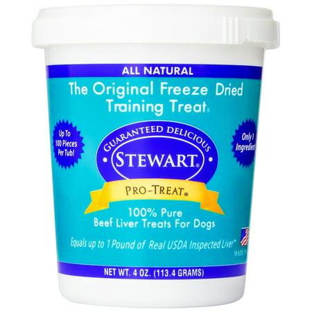 Pro-Treat Freeze Dried Beef Liver Treats (4 oz) (Liver Treats)