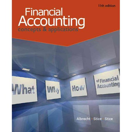 Financial Accounting By W Steve Albrecht