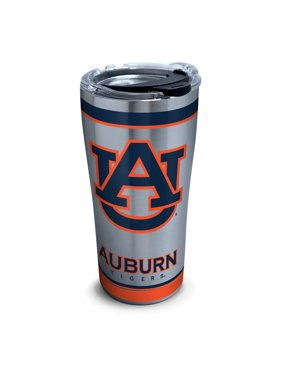 NCAA Auburn Tigers Tradition 20 oz Stainless Steel Tumbler with lid