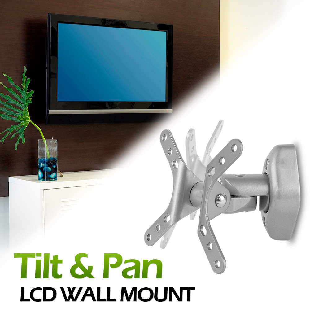 Vantage Point LCD Tilt and Pan Mount - AXWL02-S (Silver)