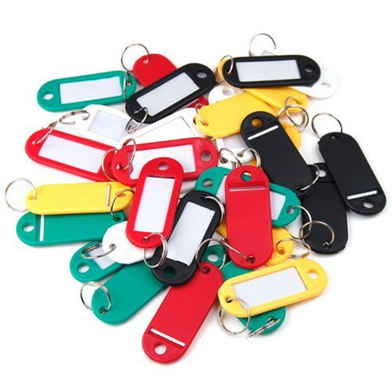 Mini Size Plastic Key Cards Label Card Classification Card School Office Accessories, 1 Piece