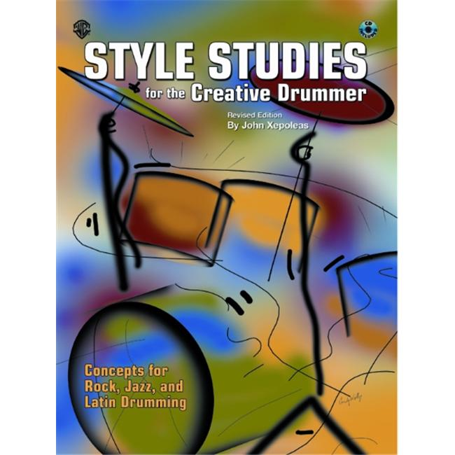 Alfred 00-MMBK0054CD Style Studies for the Creative Drummer- Revised Edition Music Book by Alfred