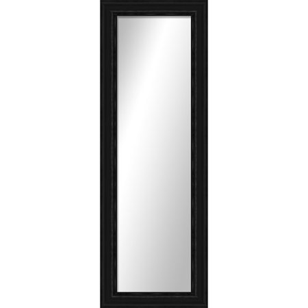 Ptm images montebello black full length mirror for Black floor length mirror