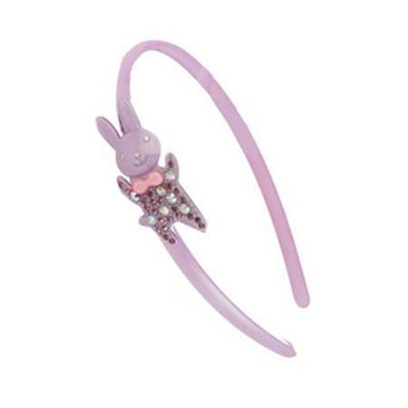 Missy Tiera Diamond Headband  Girls Fashion Headband (Mr. Bunny) (Bunny Headbands)